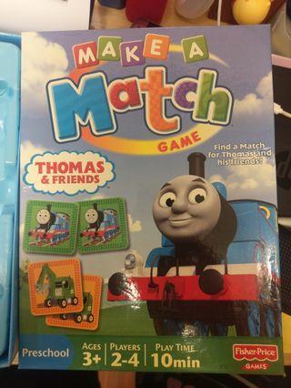 Thomas & Friends 配對卡