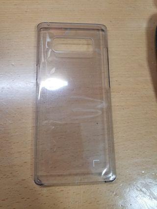 Samsung N8透明手機殼