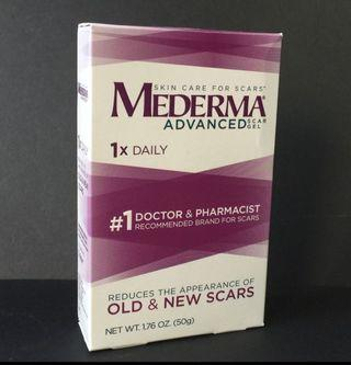 Restock Mederma Advanced Scar Gel for Old & New Scars from Acne, Cuts, Surgery & Burn 50g