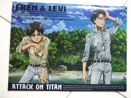 Levi and Eren cover File