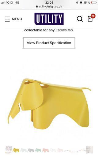 Vitra Elephant miniature Charles & Ray Eames
