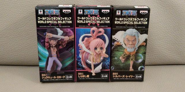 WCF one piece world special selection 海賊王 figure