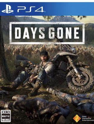🚚 WTB days gone