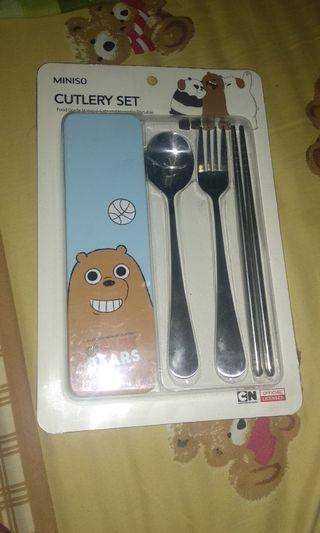 Miniso Set Sendok (cutlery)