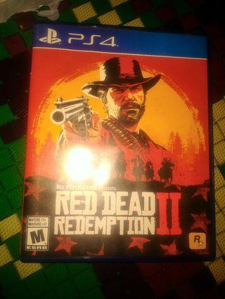 Kaset PS 4 Red Dead Redemption II 2