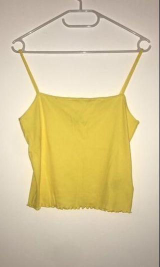 🚚 Yellow tank top