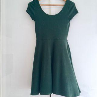 $10 SALE: BN Skater Green Dress (do you see this marked sold? no. then OBVIOUSLY ITS AVAILABLE)