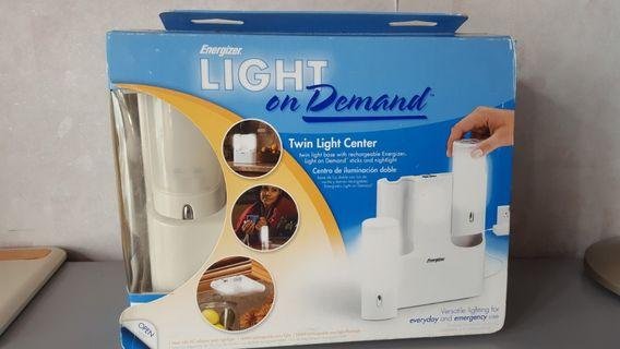 雙電筒LED燈座