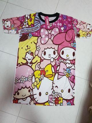 🚚 My Melody, Hello Kitty, LTS Dryfit Dress