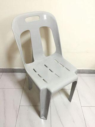 Plastic Chair with backrest