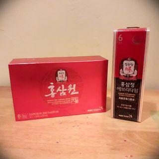 KGC Korean Red Ginseng Extract & Drink