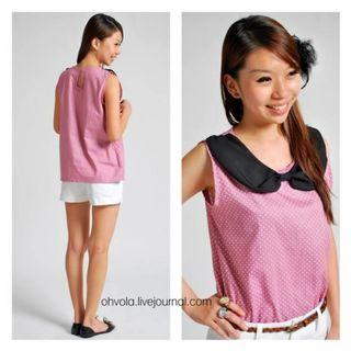 $5 SALE: Ohvola Hana Blouse Top (do you see this marked sold? no. then OBVIOUSLY ITS AVAILABLE)
