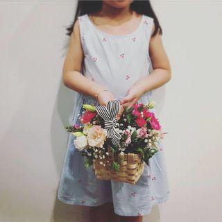 🚚 Mini flower basket