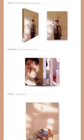 wts bae jinyoung hard to say goodbye album sealed