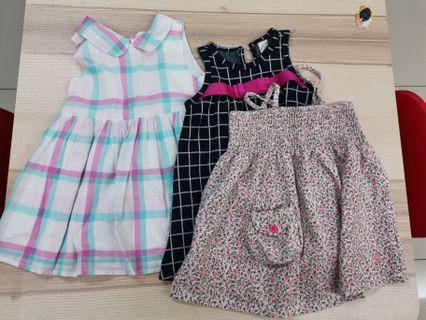 Baby Gap & hush puppies dresses