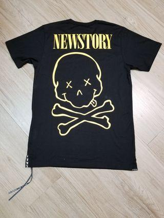 MMW NEW STORY PRINTED JERSEY TEE