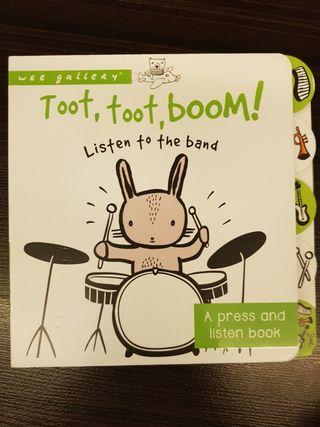 🚚 001. Toot, Toot, Boom! Listen to the Band : A Press and Listen Board Book