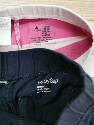 Baby Gap leggings