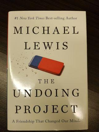🚚 016. The Undoing Project : A Friendship That Changed Our Minds, By Michael Lewis