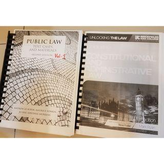 Law book bundle - Public Law