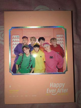BTS Happily Ever After 4th Muster DVD 冇卡
