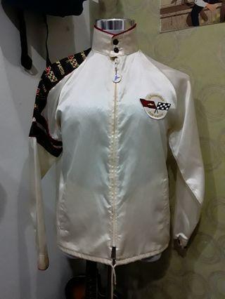 Vtg Chevrolet corvette racing jacket