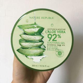 #BAPAU Nature Republic Aloe Vera Soothing Gel