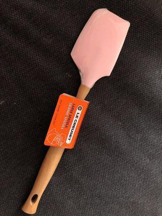 Le Creuset pink large spatula