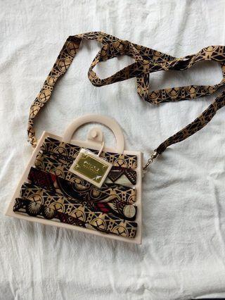 Candies cliche系列矽胶手袋 handbag