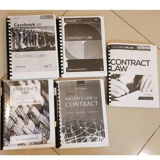 Law book bundle - Contract Law