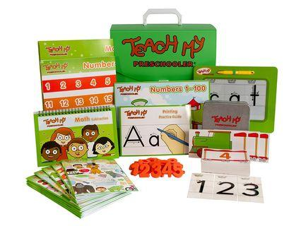 Teach My -Toys Teach My Preschooler Learning Kit