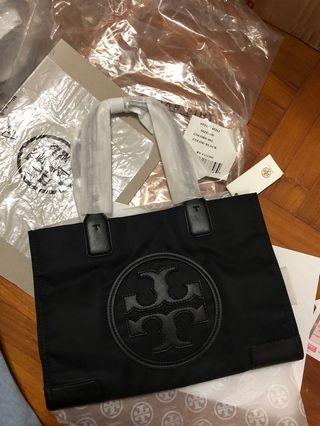 Tory Burch Ella printed canvas Tote Bag nylon logo shoulder bag 袋