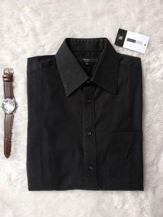 Kemeja G2000 full black shirt