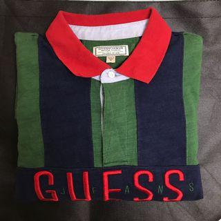 🚚 Guess 條紋長袖polo