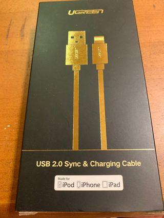 🚚 UGreen USB 2.0 sync and Charging cable lightning