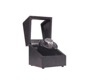 *PROMO* BNIB Automatic Classic Watch Winder Wood Box (Carbon Fibre) for one (1) watch winding