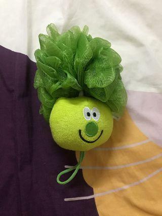 🚚 全新 花椰菜造型沐浴球 洗澡球