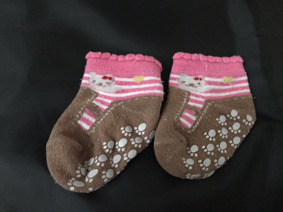 $5(3對)🈹初生BB襪仔 嬰兒襪仔 Baby socks (女BB)