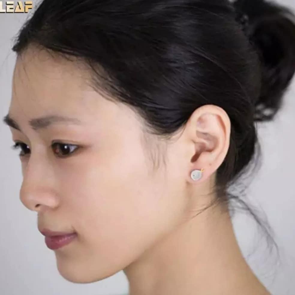 925 Sterling Silver Earrings Cute Fish Stud Earrings