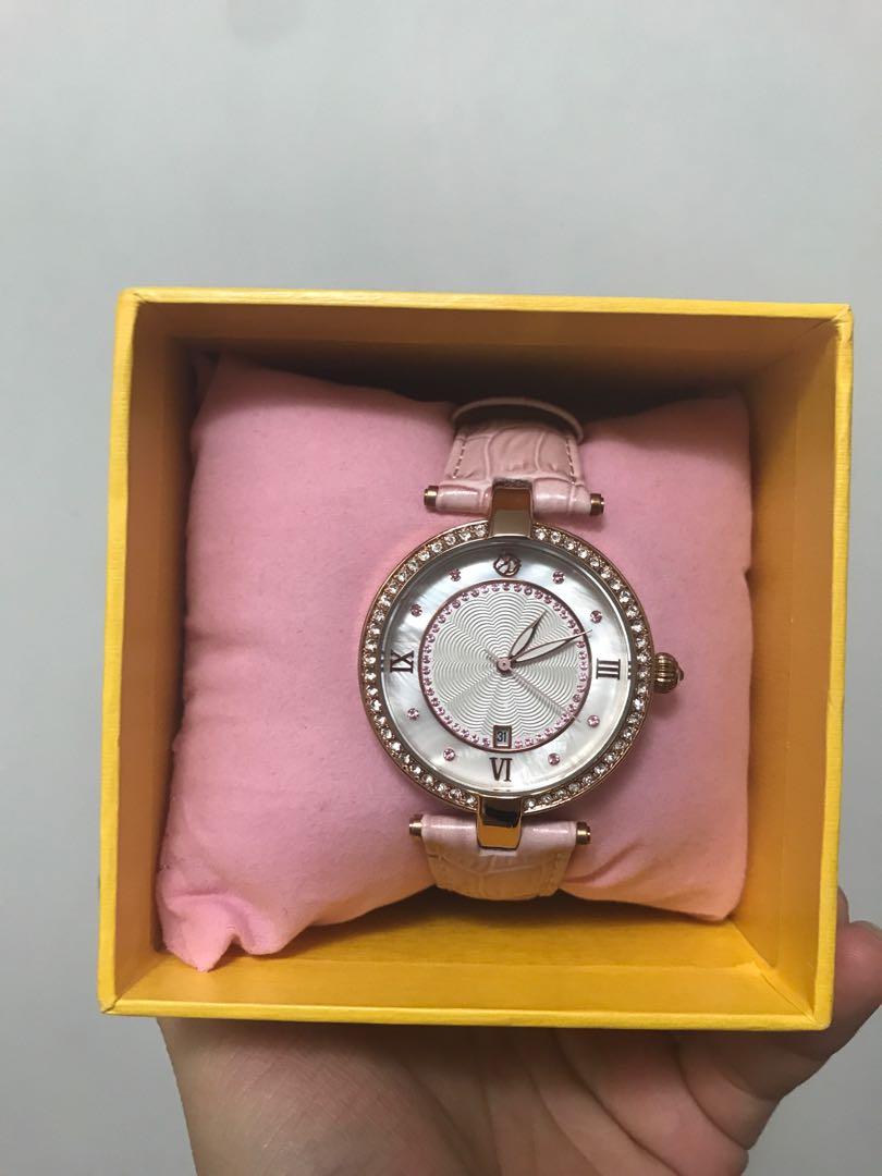 賽馬會莎莎婦女銀袋日 特別版手錶