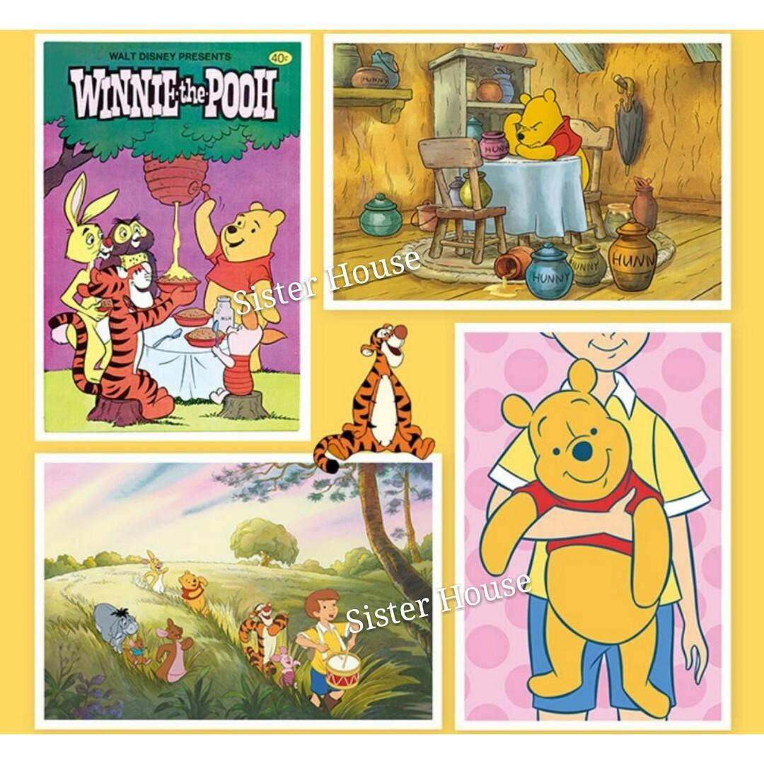 🇰🇷 Disney Postcard Winnie the Pooh Set 100pcs 廸士尼小熊維尼明信片100張套裝
