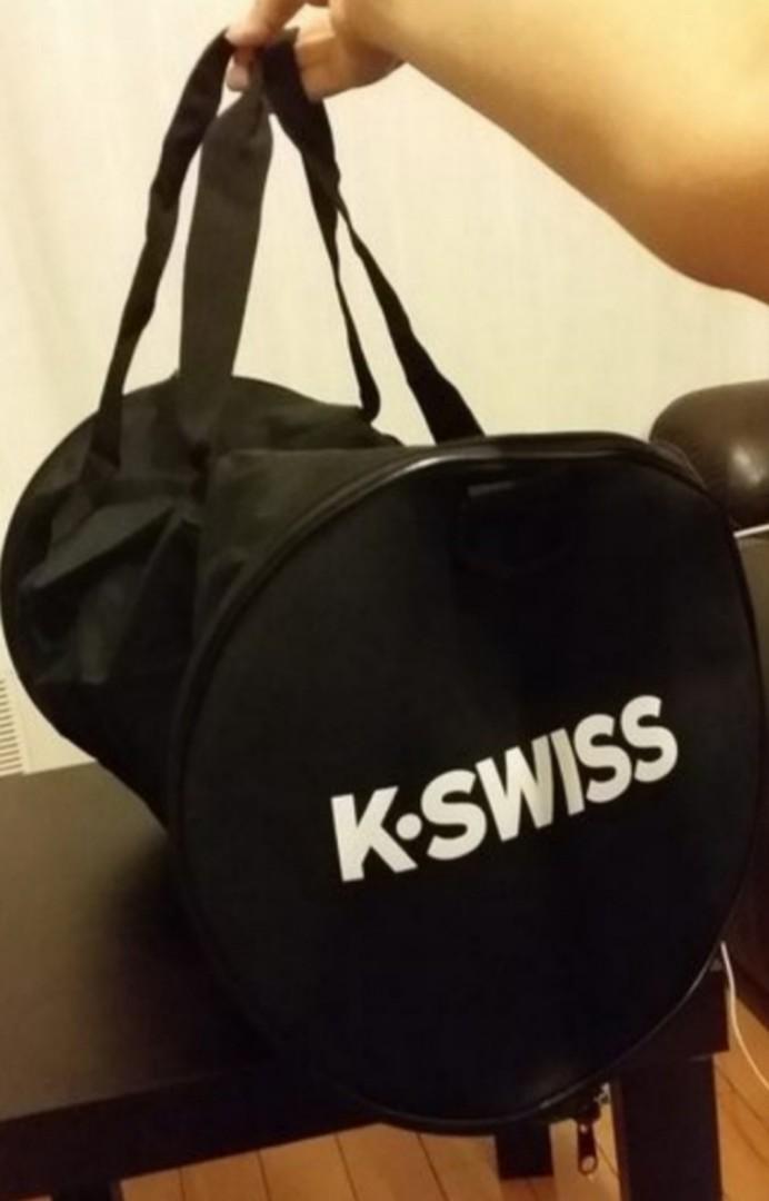 全新 K-SWISS 50周年限定版 黑色運動袋 / 行李袋 一個 #MTRkt