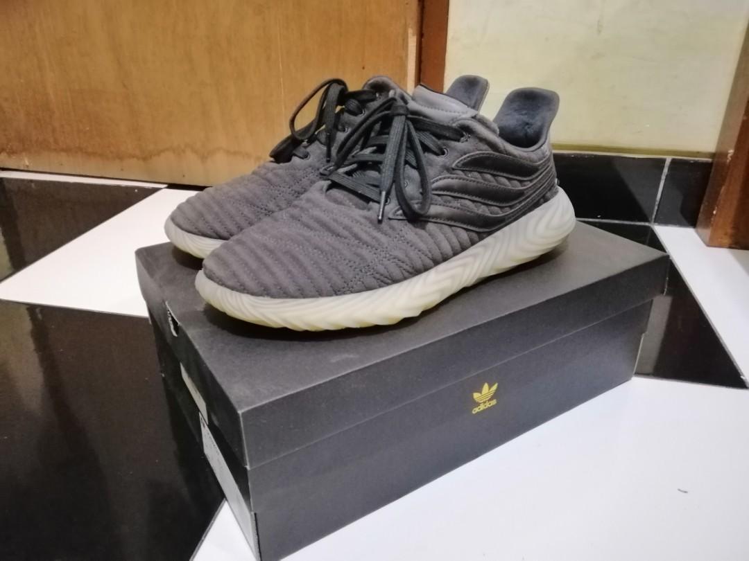 Adidas Sobakov Carbon core black ORIGINAL Size 44