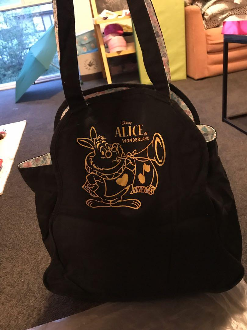 Alice in wonderland tote bag from japan