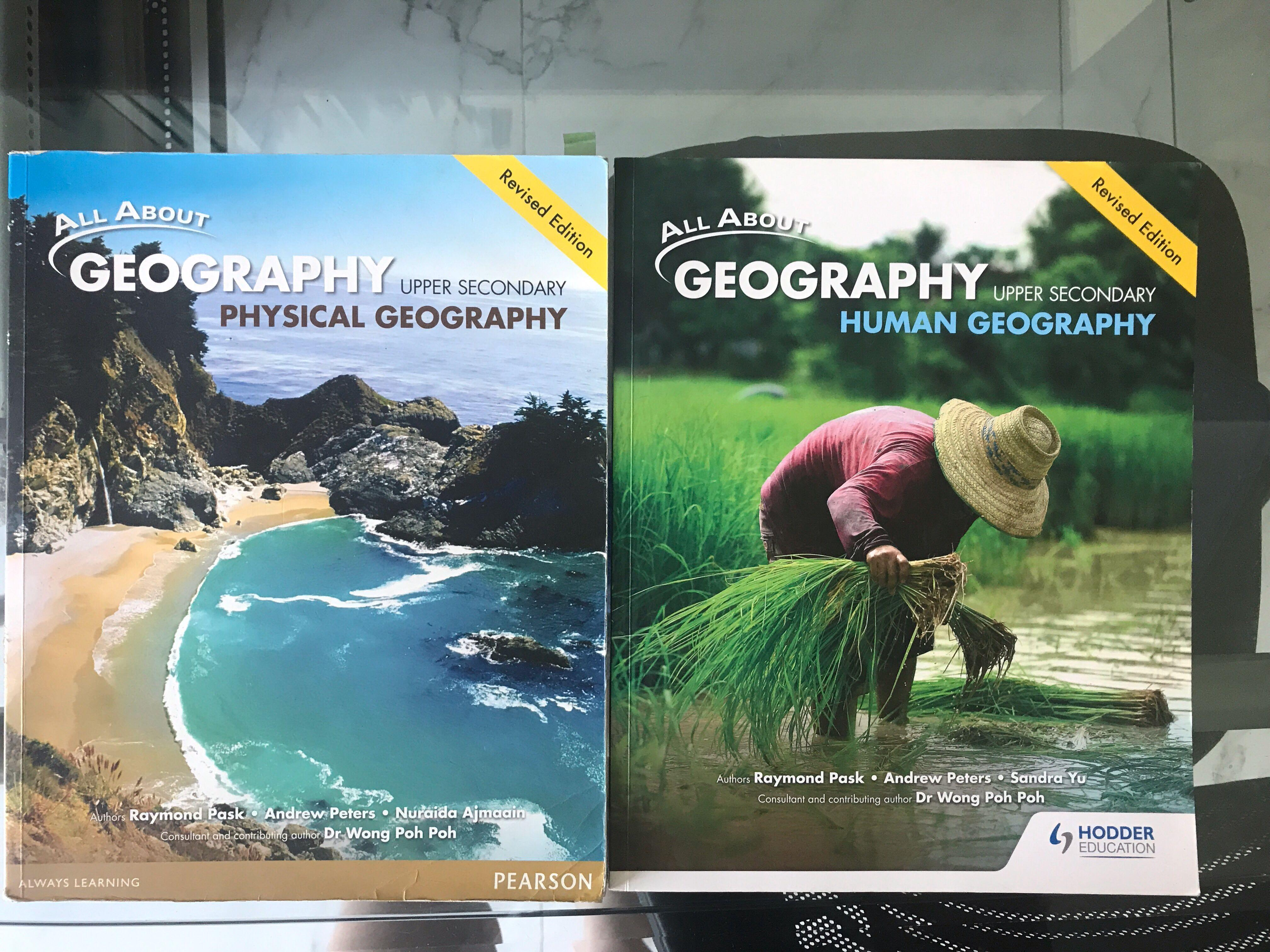 All About Geography Textbooks Upper Secondary