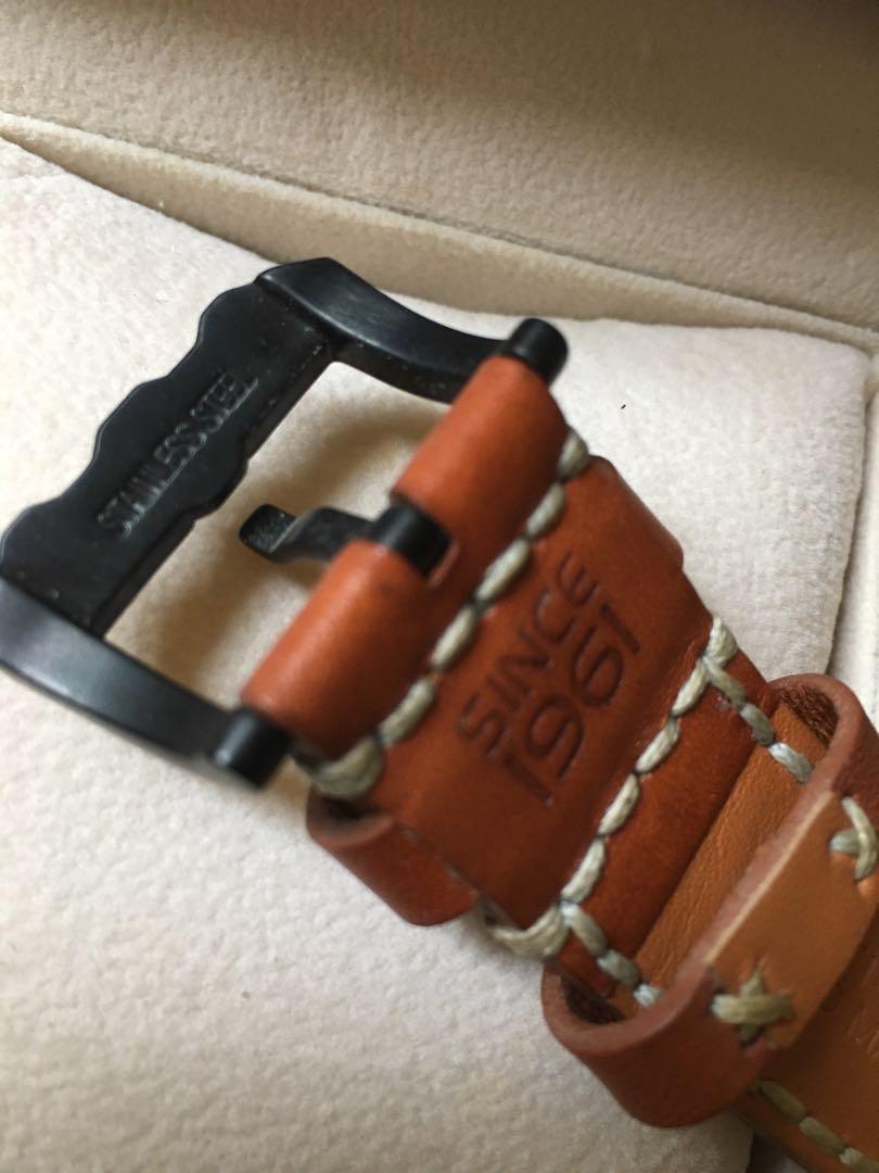 Allesandro Baldieri Automatic 48mm Brown Carbon Magnum M-48 Diive Watch