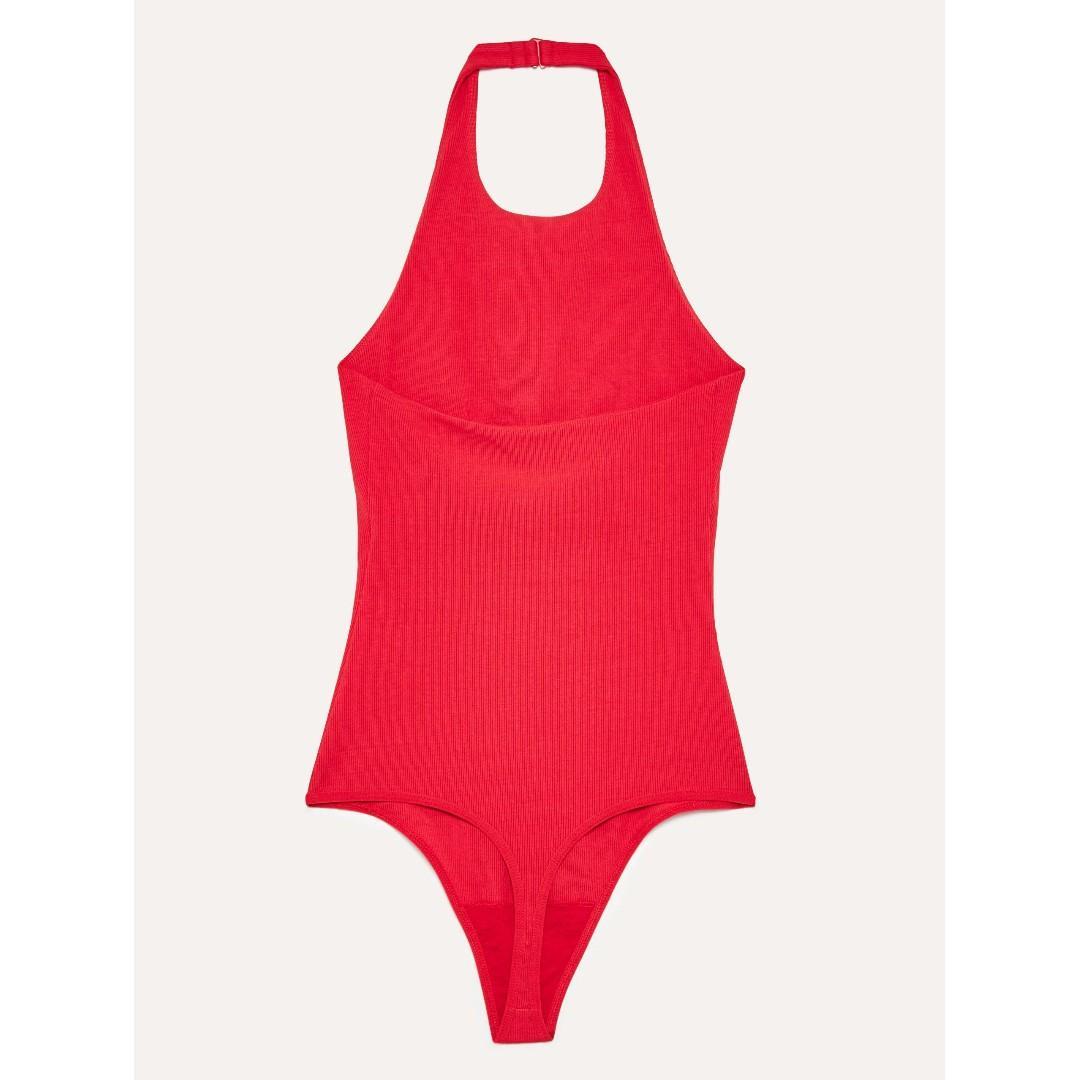Aritzia Odilia Red Bodysuit