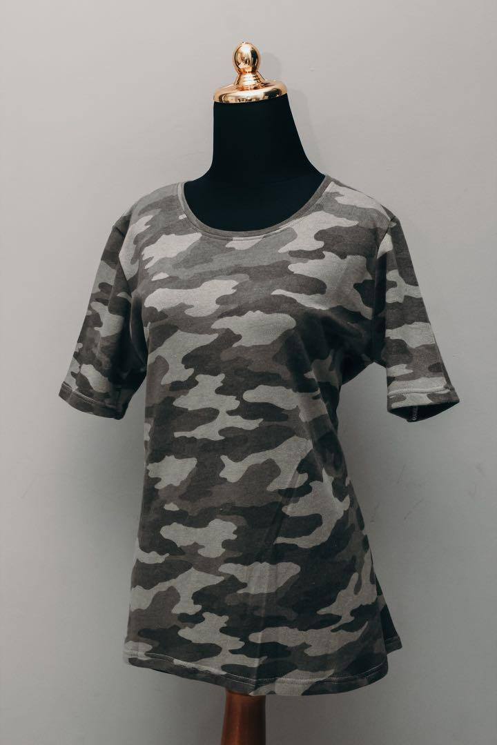 Army Top (Grey/Green)