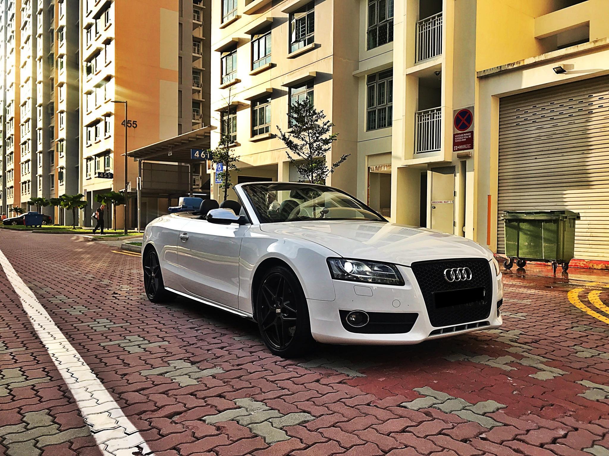 Audi A5 Cabriolet 2.0 TFSI quattro S tronic Auto