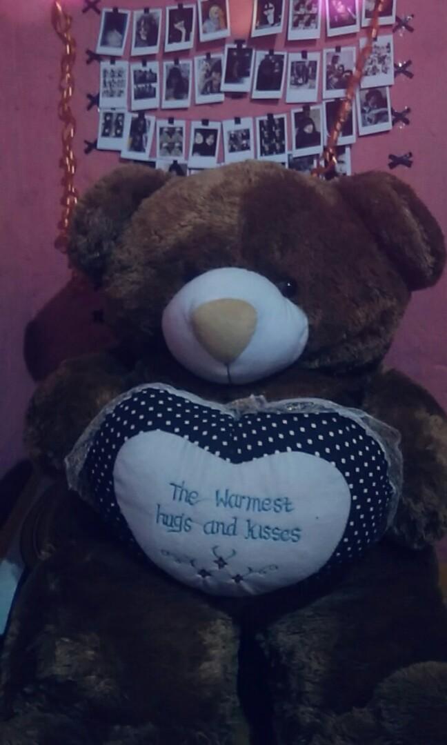 #BAPAU Boneka Beruang coklat besar